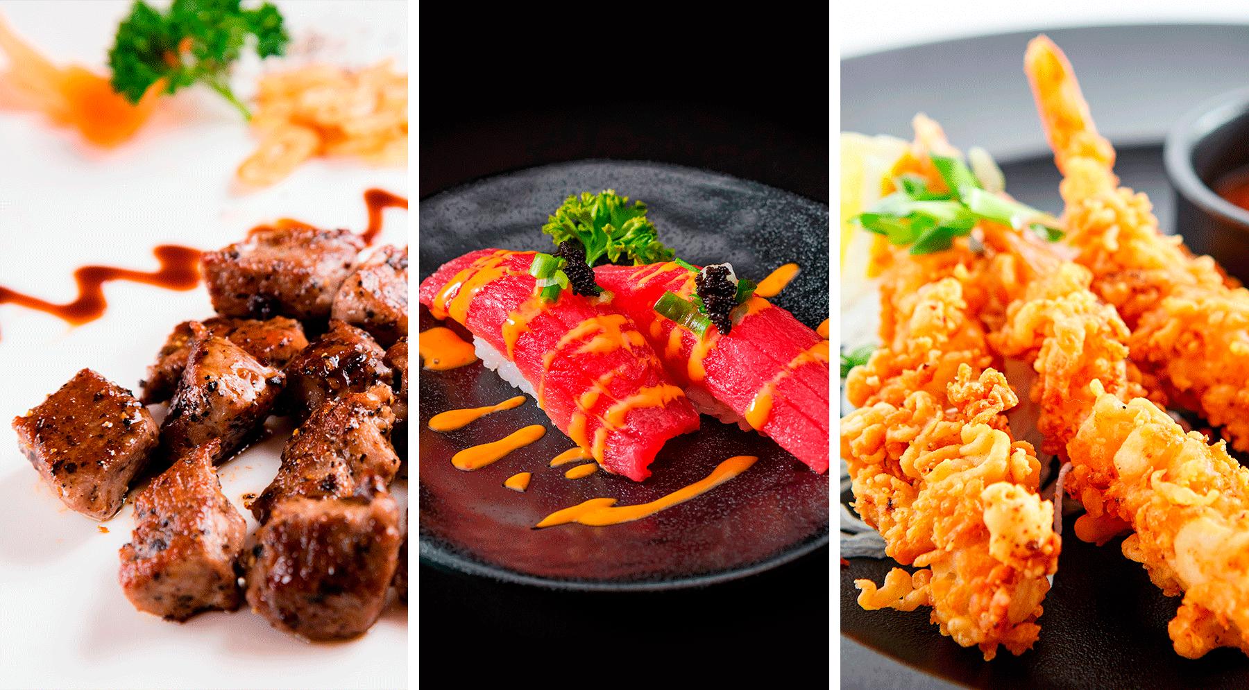 Smaakvolle gerechten & bewonder menu